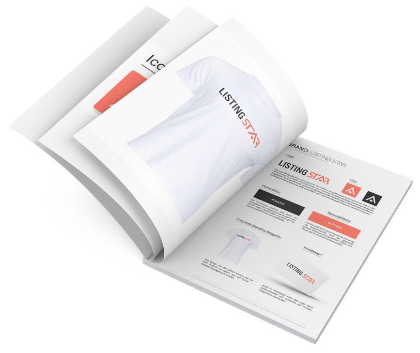 Corporate Design Listingstar